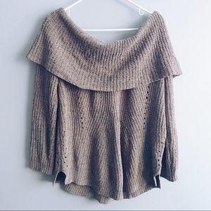Anthropologie Moth Turtleneck Sweater
